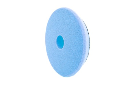 RRC PRO DA Niebieska Twarda gąbka polerska 135mm/ Pad polerski