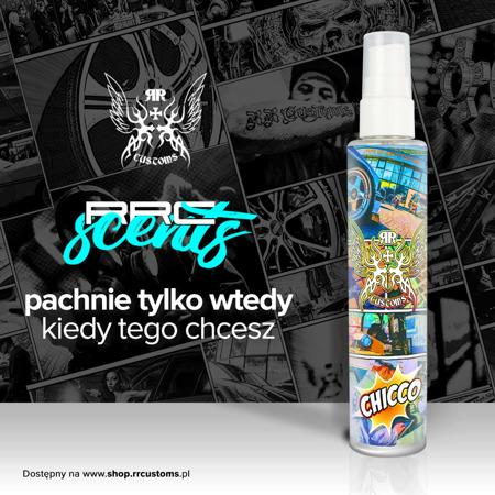 RRC Scents - Odświeżacz powietrza - Zapach Chicco - 100ml + Zawieszka